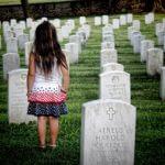 墓場と少女